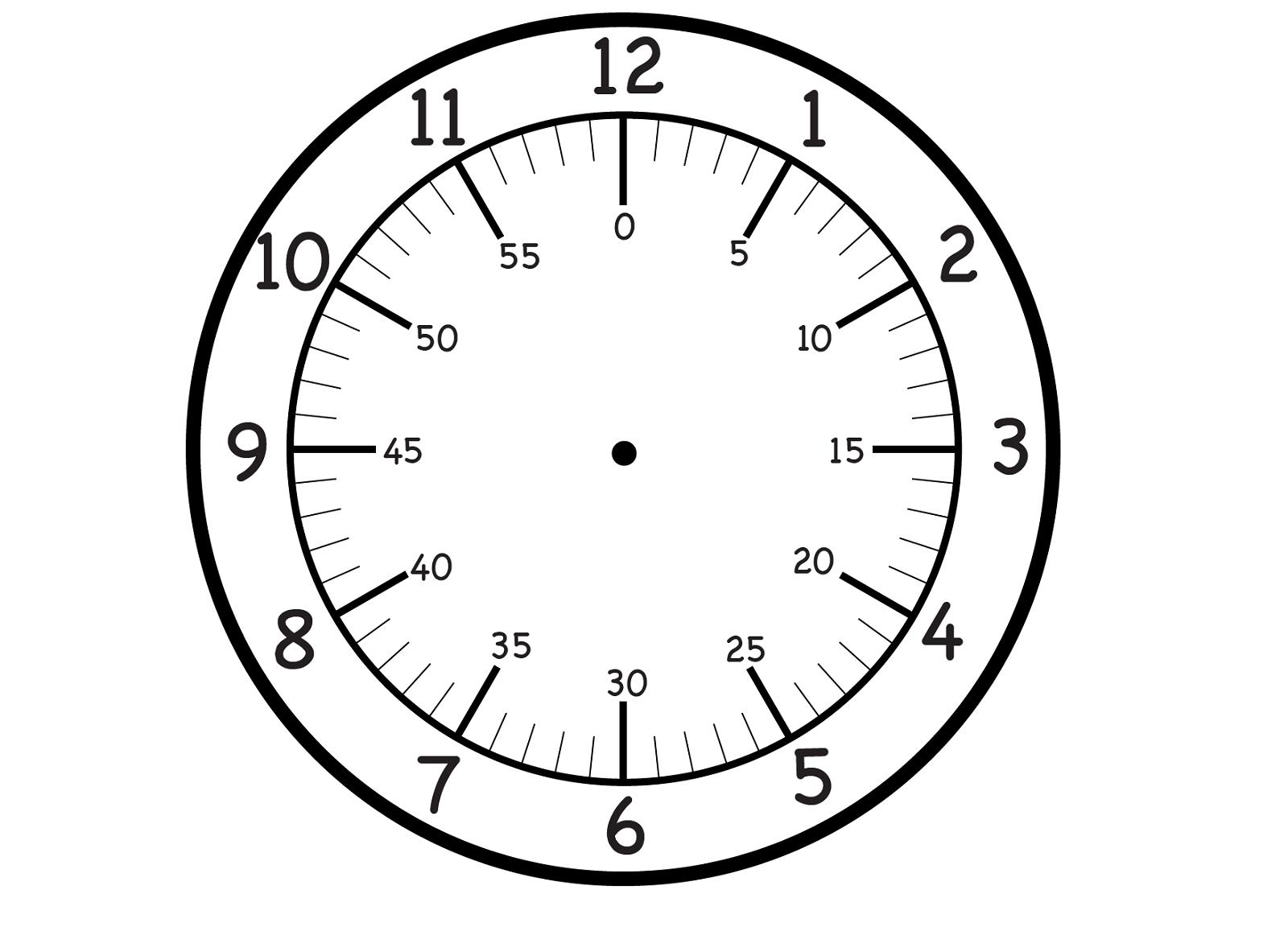 Clock Crafts For Kindergarten