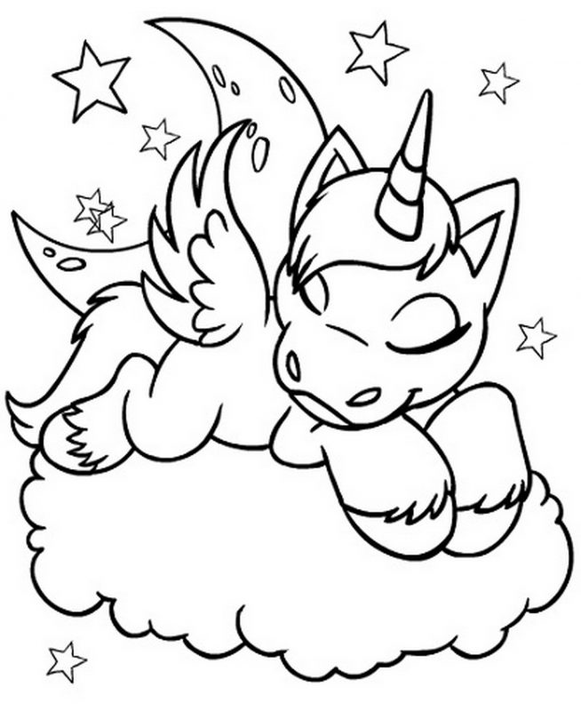 Unicorn Coloring Pages Printable | Learning Printable | coloring pages printable unicorn