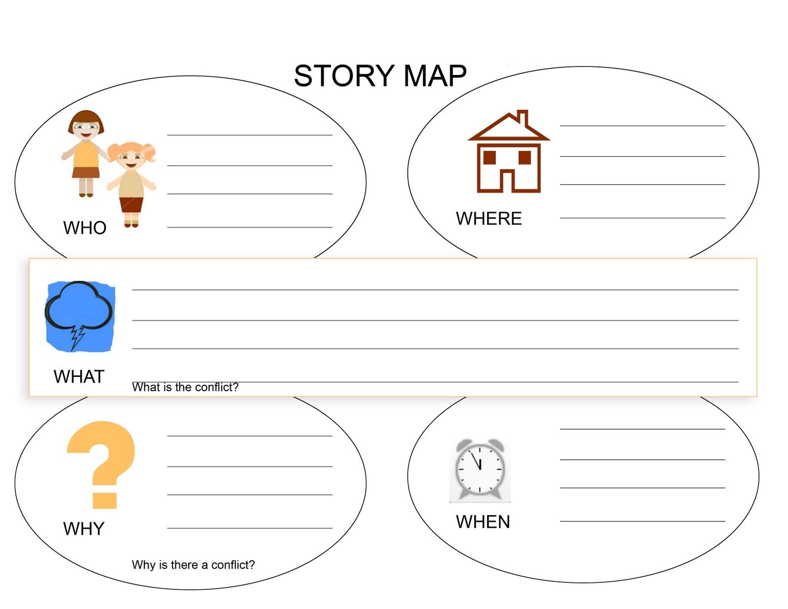 Story Worksheets For Kindergarten