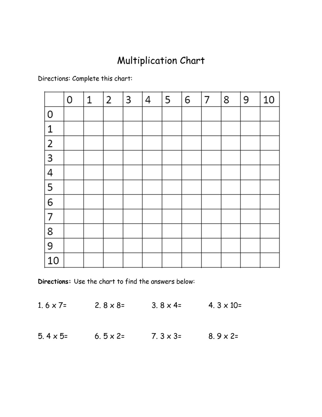 7th Grade Math Worksheets