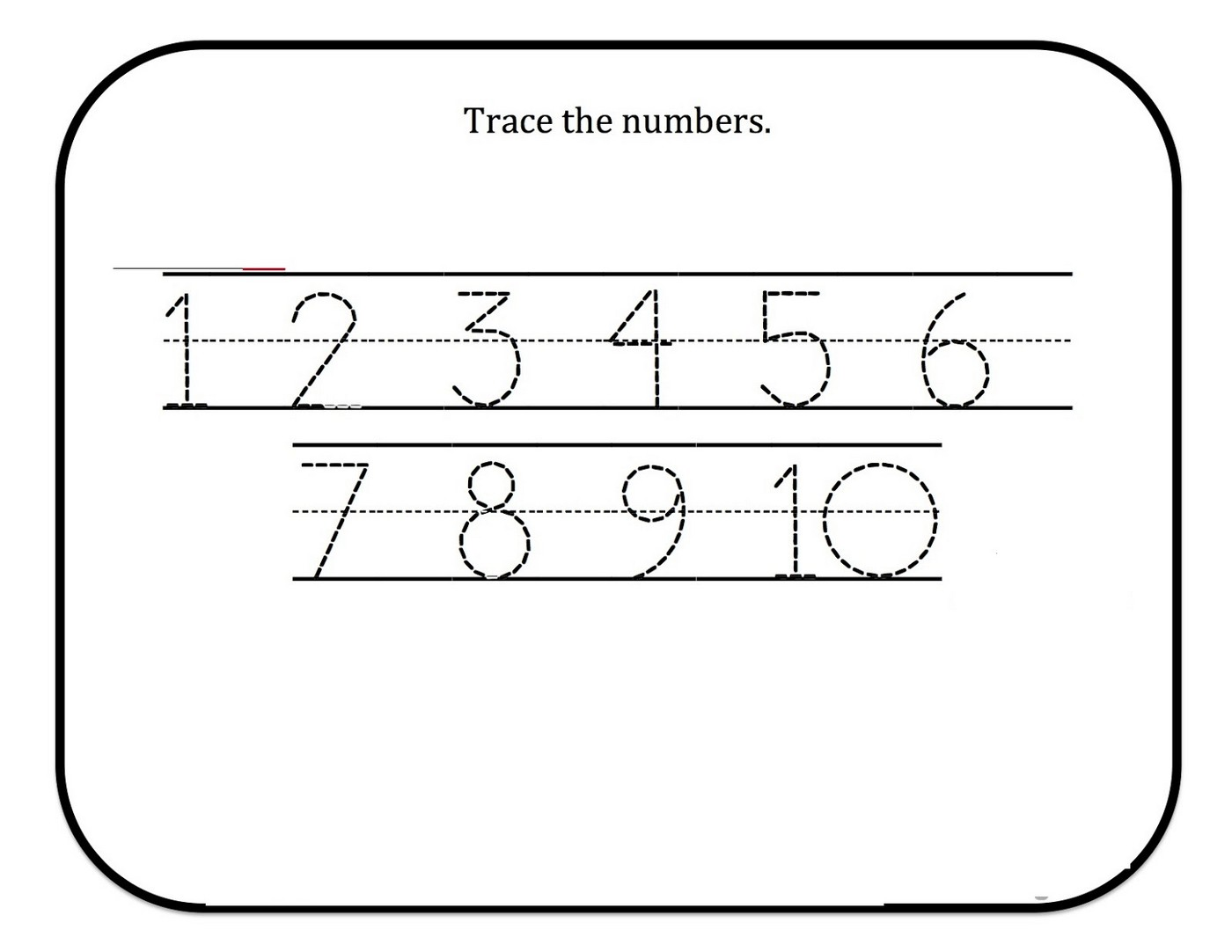 Tracing Numbers For Kg