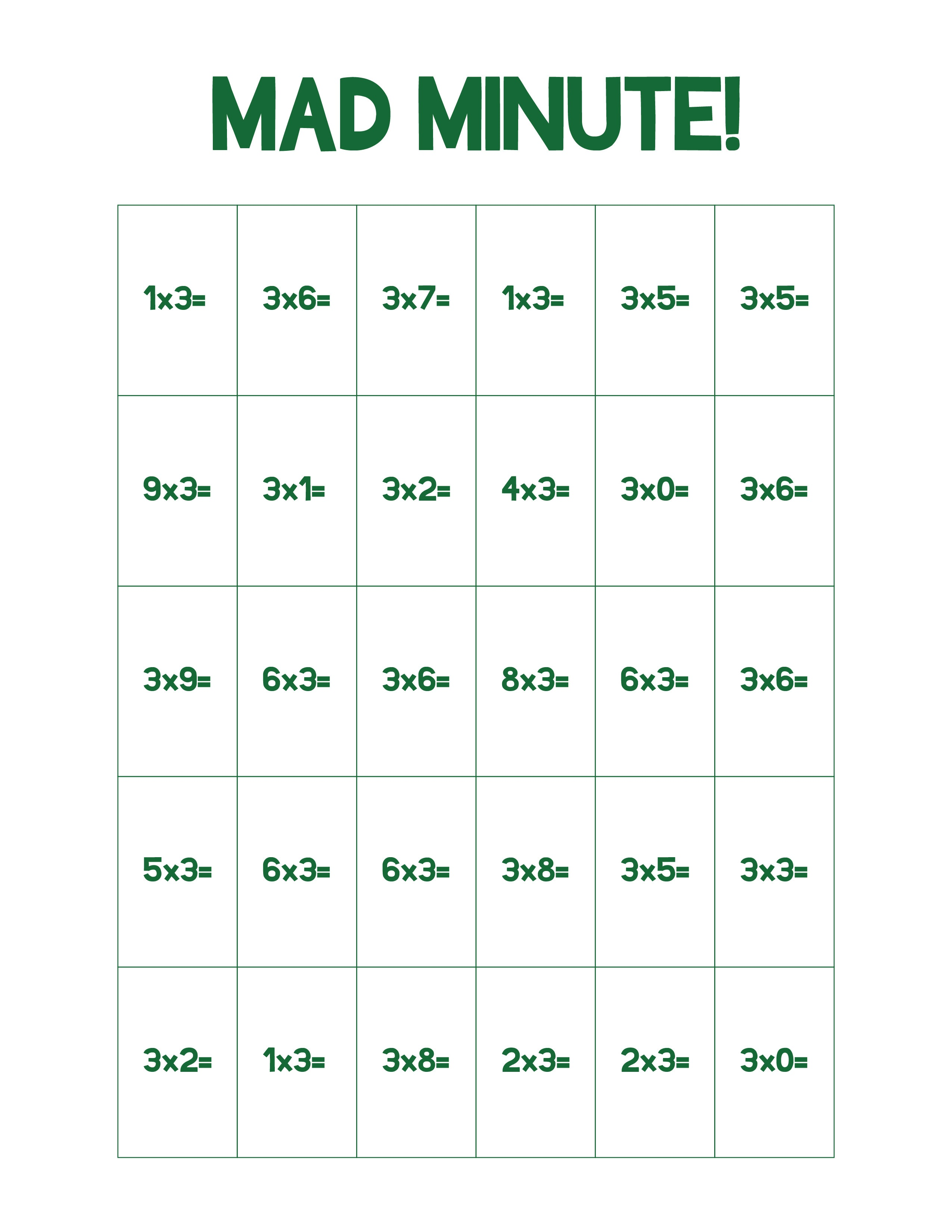 Math Games Worksheets Ideas