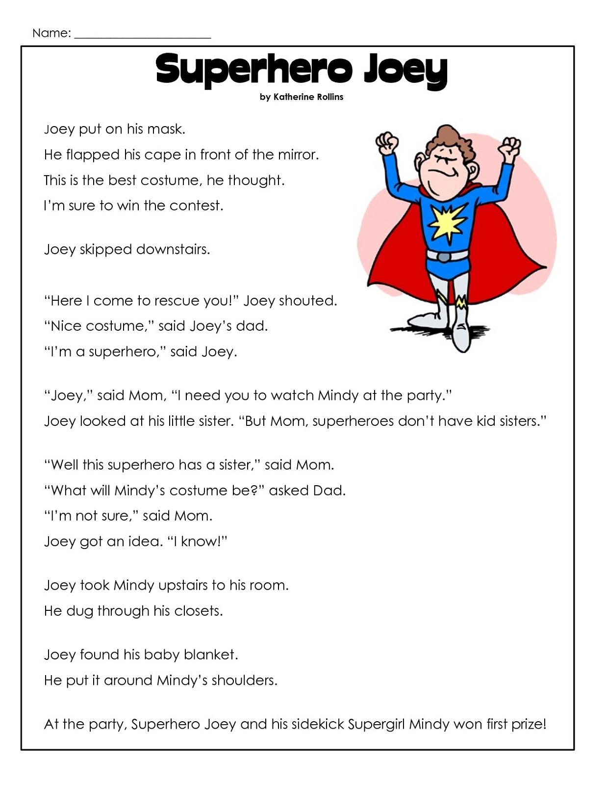 Second Grade Worksheets
