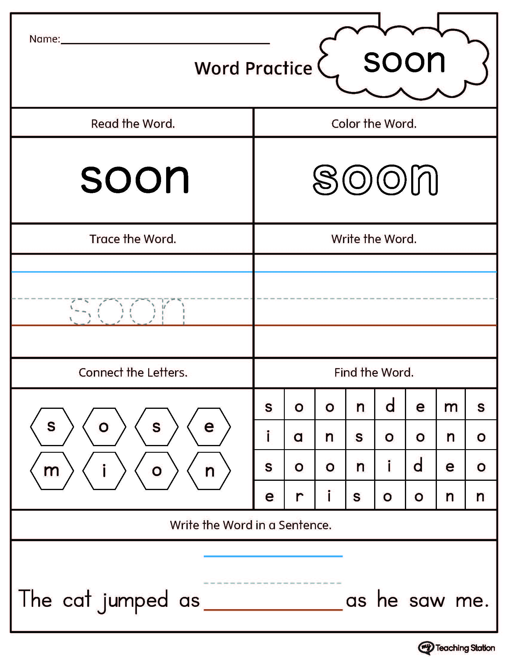 Worksheet Op Word Family Worksheets Worksheet Fun