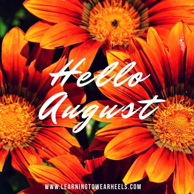 Well Hello August! You know what that means my favoritehellip