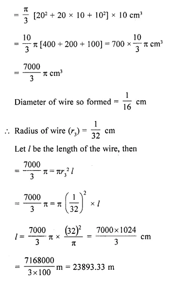 RD Sharma Class 10 Solutions Chapter 14 Surface Areas and VolumesEx 14.3 34
