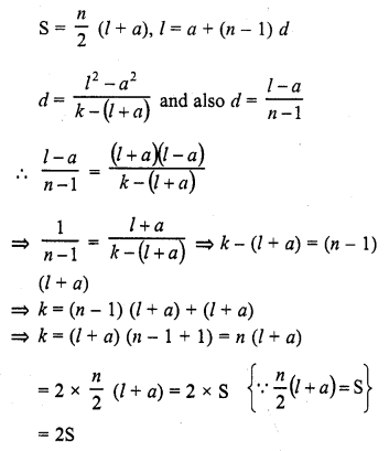 RD Sharma Class 10 Solutions Chapter 5 Arithmetic Progressions MCQS 10