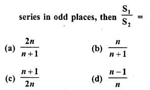 RD Sharma Class 10 Solutions Chapter 5 Arithmetic Progressions MCQS 15
