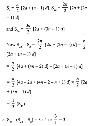 RD Sharma Class 10 Solutions Chapter 5 Arithmetic Progressions MCQS 20