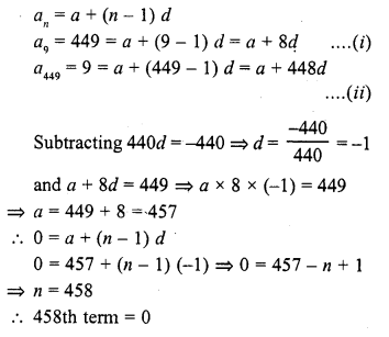 RD Sharma Class 10 Solutions Chapter 5 Arithmetic Progressions MCQS 26