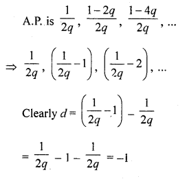 RD Sharma Class 10 Solutions Chapter 5 Arithmetic Progressions MCQS 52