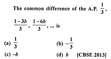 RD Sharma Class 10 Solutions Chapter 5 Arithmetic Progressions MCQS 53