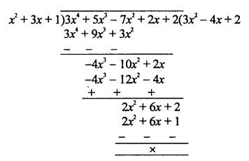 RS Aggarwal Class 10 Solutions Chapter 2 Polynomials Test Yourself 15