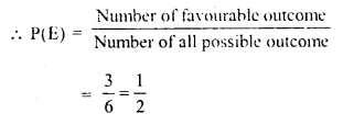 Selina Concise Mathematics Class 10 ICSE Solutions Chapter 25 Probability Ex 25A Q11.1