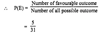 Selina Concise Mathematics Class 10 ICSE Solutions Chapter 25 Probability Ex 25A Q15.3