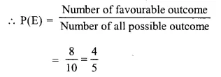 Selina Concise Mathematics Class 10 ICSE Solutions Chapter 25 Probability Ex 25A Q2.4