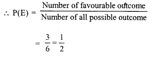 Selina Concise Mathematics Class 10 ICSE Solutions Chapter 25 Probability Ex 25A Q4.1
