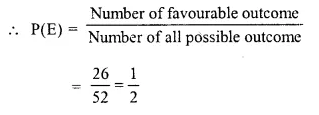 Selina Concise Mathematics Class 10 ICSE Solutions Chapter 25 Probability Ex 25A Q5.1