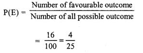 Selina Concise Mathematics Class 10 ICSE Solutions Chapter 25 Probability Ex 25B Q2.2