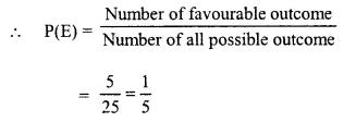 Selina Concise Mathematics Class 10 ICSE Solutions Chapter 25 Probability Ex 25B Q3.2