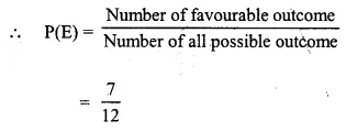 Selina Concise Mathematics Class 10 ICSE Solutions Chapter 25 Probability Ex 25C Q18.7
