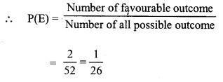Selina Concise Mathematics Class 10 ICSE Solutions Chapter 25 Probability Ex 25C Q19.1