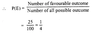 Selina Concise Mathematics Class 10 ICSE Solutions Chapter 25 Probability Ex 25C Q24.2