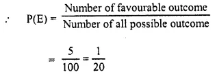 Selina Concise Mathematics Class 10 ICSE Solutions Chapter 25 Probability Ex 25C Q24.5