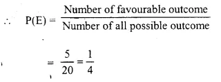 Selina Concise Mathematics Class 10 ICSE Solutions Chapter 25 Probability Ex 25C Q7.1