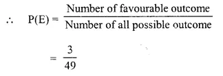 Selina Concise Mathematics Class 10 ICSE Solutions Chapter 25 Probability Ex 25C Q8.2