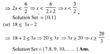 Selina Concise Mathematics Class 10 ICSE Solutions Chapter 4 Linear Inequations Ex 4A 4.2