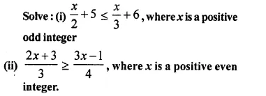 Selina Concise Mathematics Class 10 ICSE Solutions Chapter 4 Linear Inequations Ex 4B 26.1