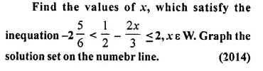 Selina Concise Mathematics Class 10 ICSE Solutions Chapter 4 Linear Inequations Ex 4B 34.1