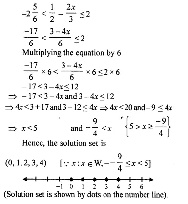 Selina Concise Mathematics Class 10 ICSE Solutions Chapter 4 Linear Inequations Ex 4B 34.2