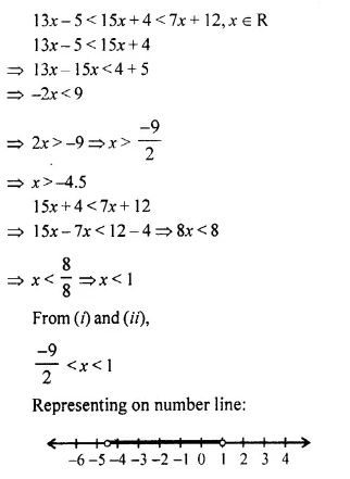 Selina Concise Mathematics Class 10 ICSE Solutions Chapter 4 Linear Inequations Ex 4B 35.1
