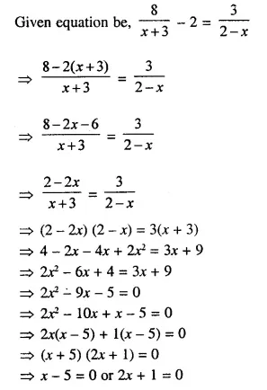Selina Concise Mathematics Class 10 ICSE Solutions Chapterwise Revision Exercises Q21.2
