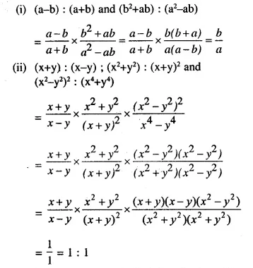 Selina Concise Mathematics Class 10 ICSE Solutions Chapterwise Revision Exercises Q35.1