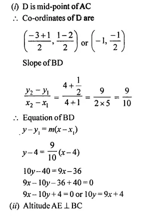 Selina Concise Mathematics Class 10 ICSE Solutions Chapterwise Revision Exercises Q66.3