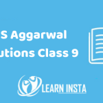 RS Aggarwal Solutions Class 9