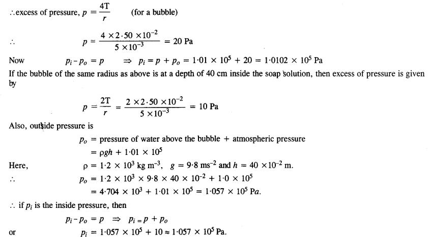 NCERT Solutions for Class 11 Physics Chapter 10 Mechanical Properties of Fluids 16