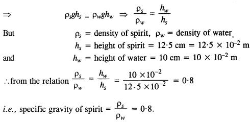 NCERT Solutions for Class 11 Physics Chapter 10 Mechanical Properties of Fluids 5