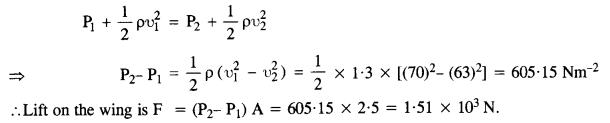 NCERT Solutions for Class 11 Physics Chapter 10 Mechanical Properties of Fluids 8