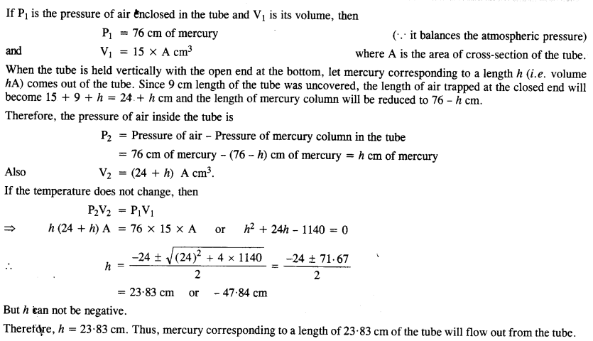 NCERT Solutions for Class 11 Physics Chapter 13 Kinetic Theory 14
