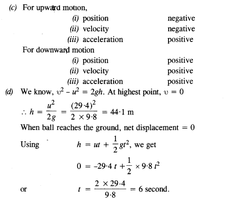 NCERT Solutions for Class 11 Physics Chapter 3 Motion in a Straight Line 8