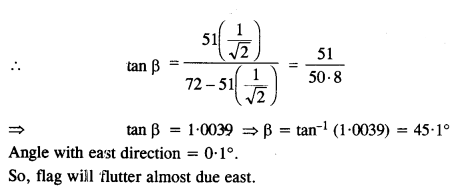 NCERT Solutions for Class 11 Physics Chapter 4 Motion in a Plane 23