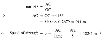 NCERT Solutions for Class 11 Physics Chapter 4 Motion in a Plane 34