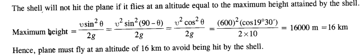 NCERT Solutions for Class 11 Physics Chapter 4 Motion in a Plane 38