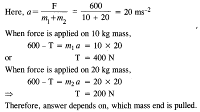 NCERT Solutions for Class 11 Physics Chapter 5 Laws of Motion 12