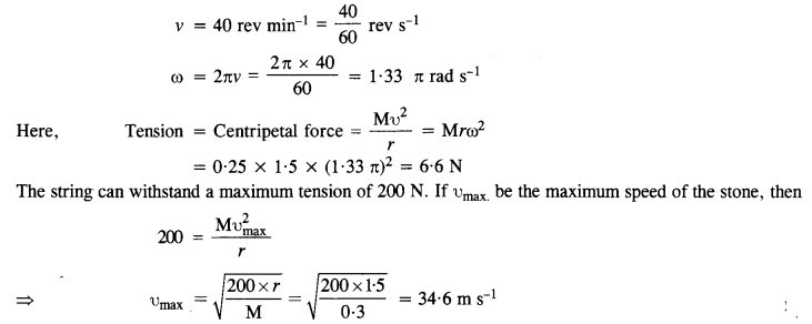 NCERT Solutions for Class 11 Physics Chapter 5 Laws of Motion 20