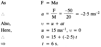 NCERT Solutions for Class 11 Physics Chapter 5 Laws of Motion 3